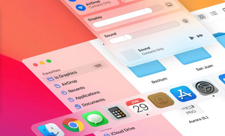 Photo of Big Sur – a Free Mac OS UI Kit