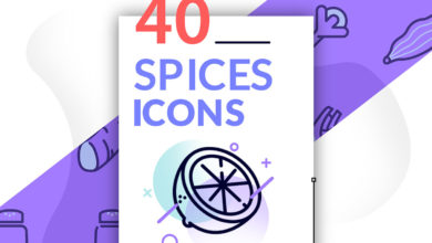 Photo of 40 Spices Icons