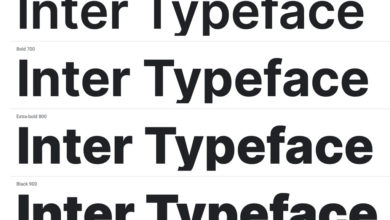 Photo of Inter Typeface now on Google Fonts