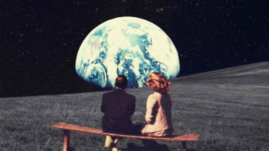 Photo of Nostalgic Postcard from Outer Space
