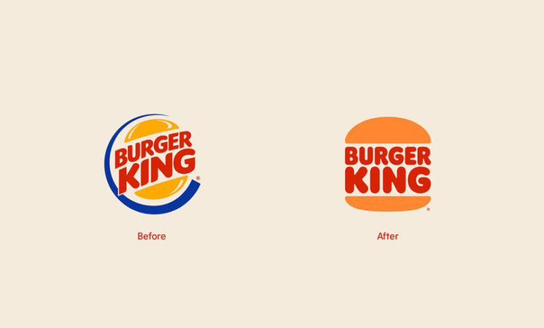 Photo of Burger King Rebrand