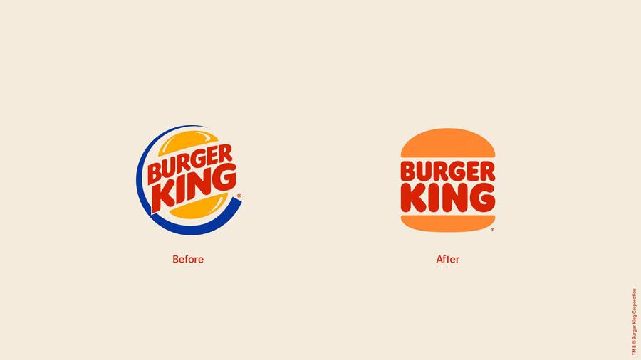Photo of Burger King Rebrand